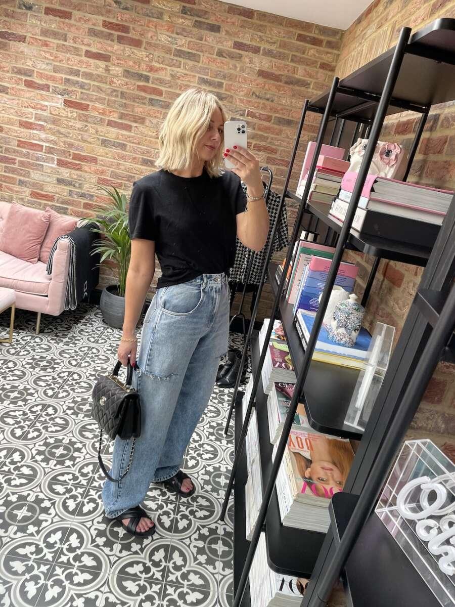 Margiela Jeans on Emma Rose Style