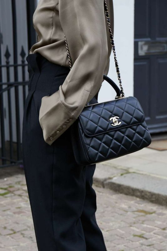 Chanel SS21 bags on Emma Rose Style