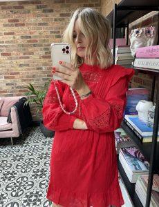 Red Dress Amazon Fashion on Emma Rose Style
