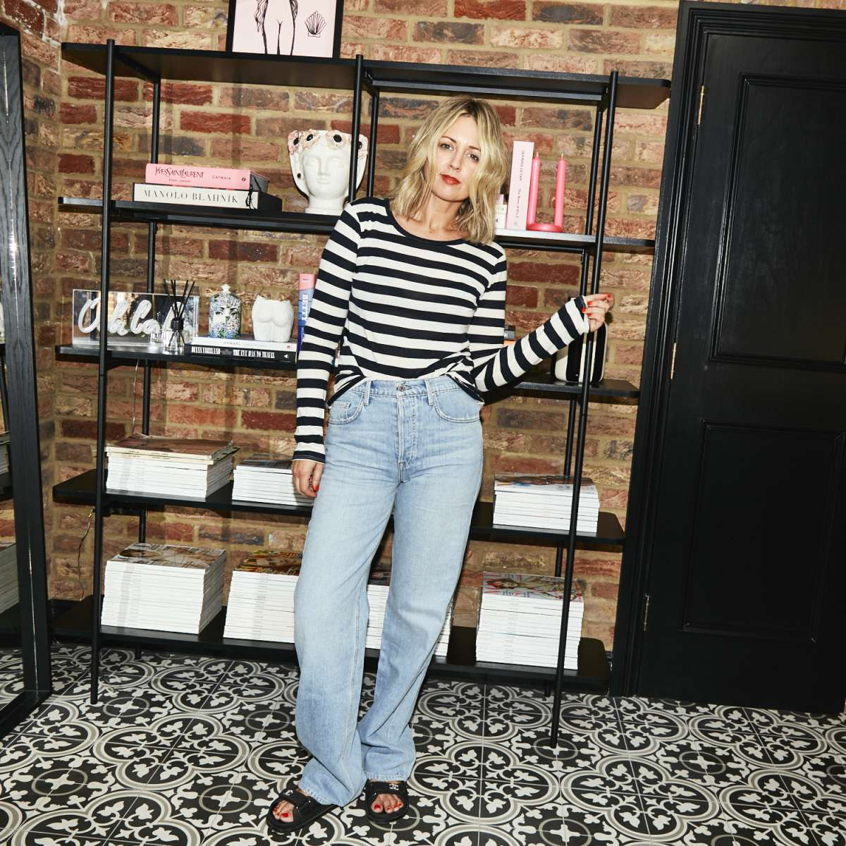 Stripes and Jeans Emma Rose Style