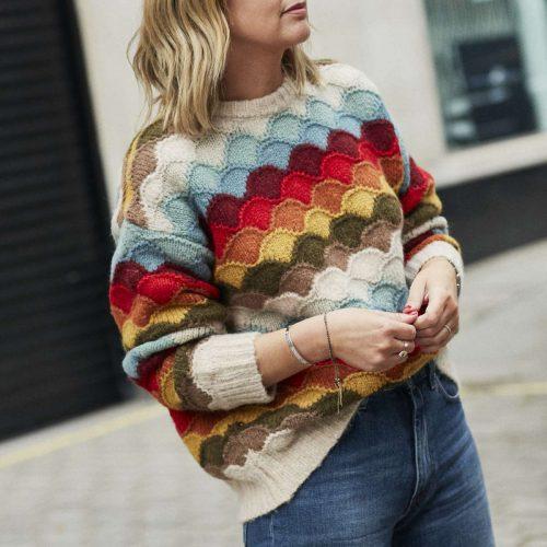 Alan Knitwear on Emma Rose Style