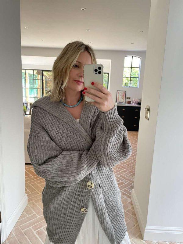 Grey knIt Emma Rose Style