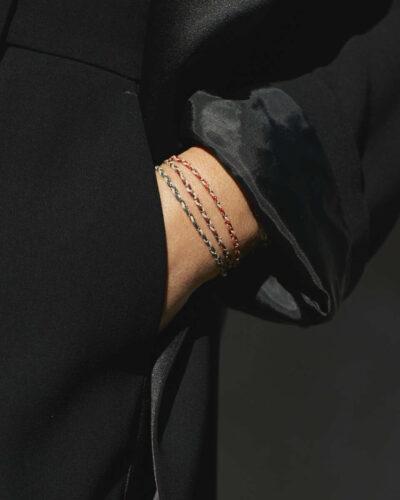 Emma Rose Style Bracelet Collection Aurum + Grey